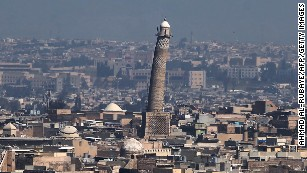 US, Iraq say ISIS blew up famous Mosul mosque