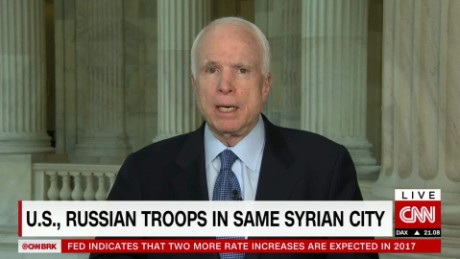 McCain: 'More latitude' for commanders in Syria
