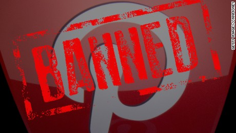 cnnmoney pinterest banned china