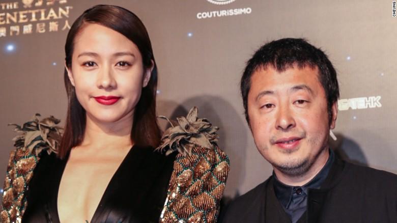 Taiwanese-Canadian actress Karena Lam and Chinese director Jia Zhangke