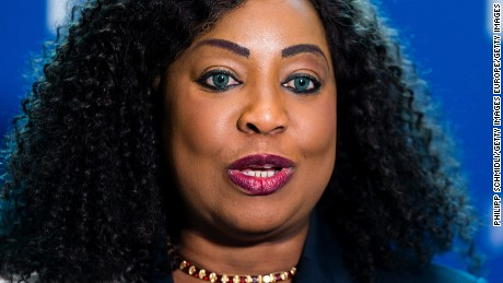 Fatma Samba Diouf Samoura is the first female to hold an executive position at FIFA