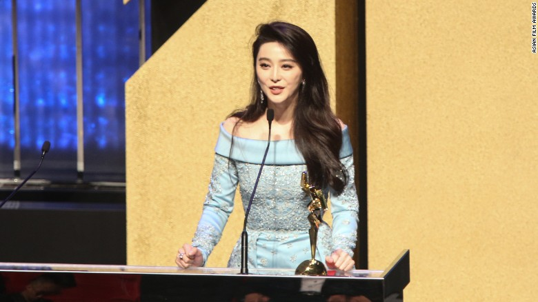 """Chinese actress Fan Bingbing won Best Actress for """"I Am Not Madame Bovary."""""""