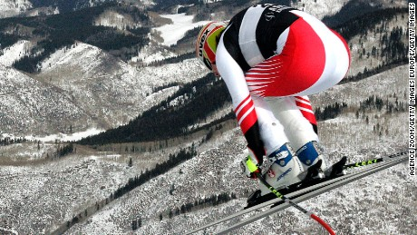 ASPEN, CO - DECEMBER 05, (FRANCE OUT).Renate Goetschl of Austria during the Alpine FIS Ski World Cup. Women's Downhill training on December 05, 2007 in Aspen USA. (Photo by Agence Zoom/Getty Images)