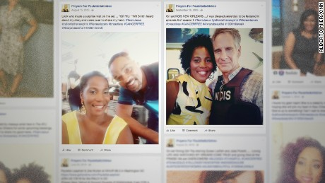 Paulette Leaphart appeared on TV and film sets after her walk ended and posted selfies with Will Smith and Scott Bakula.