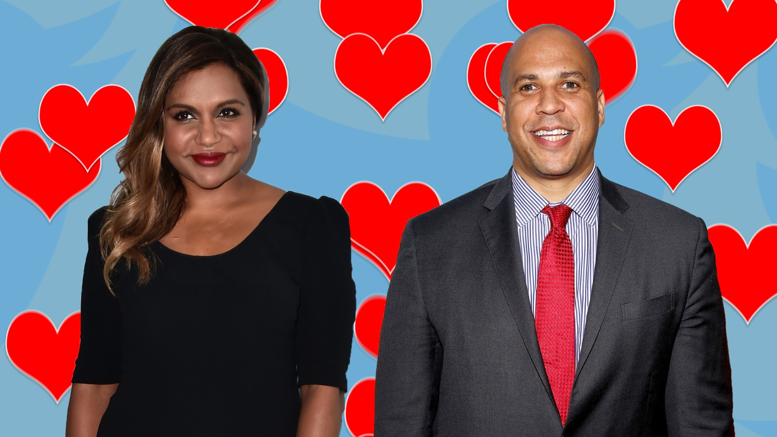 Fan photoshopped picture of Mindy Kaling and Cory Booker