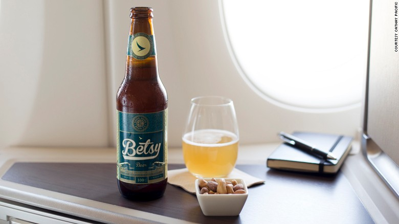 <strong>Beer crafted for planes: What's the difference? </strong>A few airlines are pouring energy into enhancing their onboard beer experience -- by introducing beers specially brewed for flights. Teaming up with Hong Kong Brew Co., Cathay Pacific is the latest to join the game.
