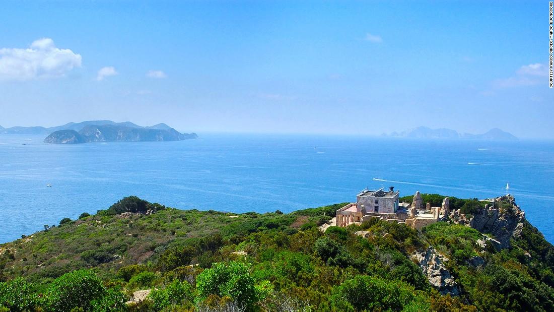 Italy orgy island