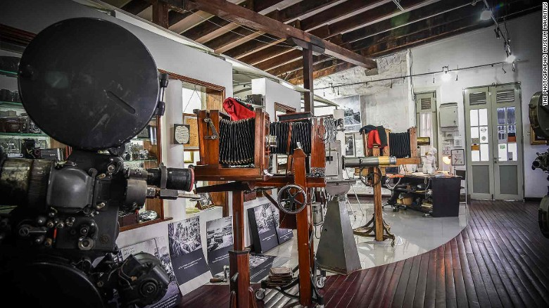 The Photography Museum in Port Louis is home to more than 1,000 old cameras.