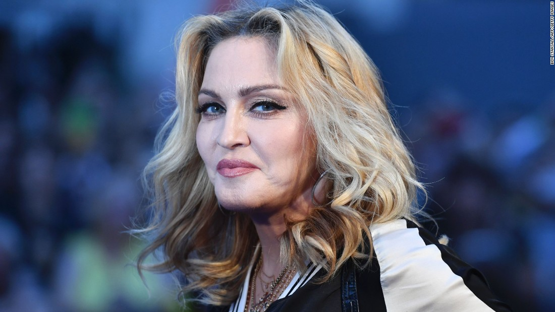 image of Madonna is happy she moved