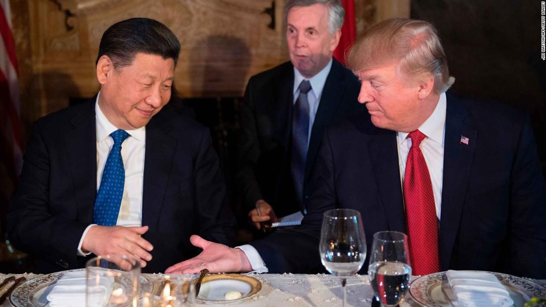 Trump Chocolate Cake China
