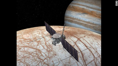 NASA's Europa Clipper will study Jupiter's moon Europa and whether it could harbor conditions suitable for life.
