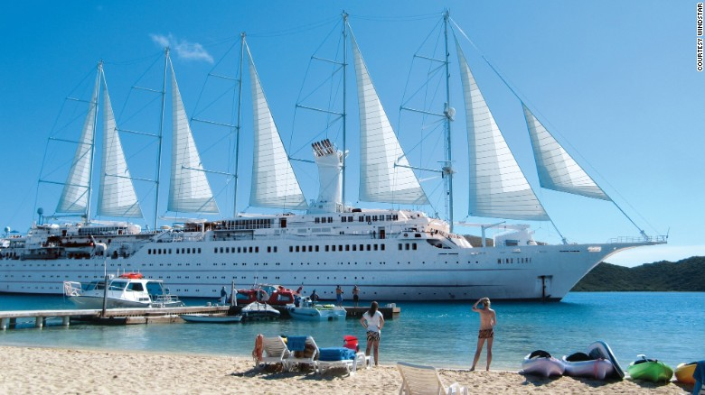 Windstar Cruises are the perfect way to island-hop.