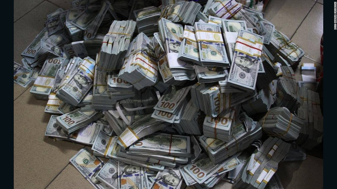 Nigerian Anti Corruption Unit Finds 43 Million In Cash In