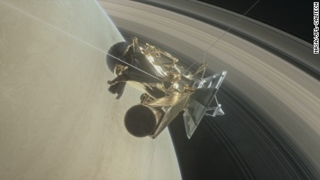 Signal received! Cassini probe shoots through Saturn's rings