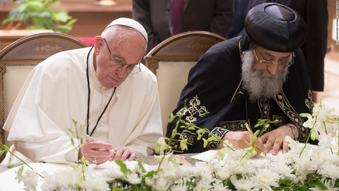 Αποτέλεσμα εικόνας για pope in egypt