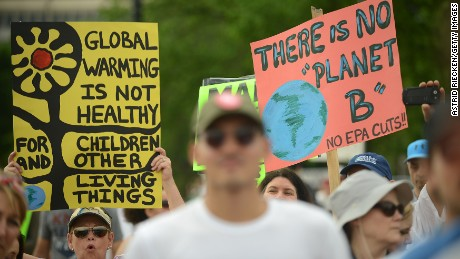 EPA removes climate change information from website