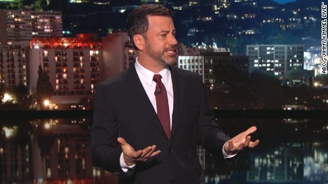 Kimmel chokes up over newborn's health - CNN Video