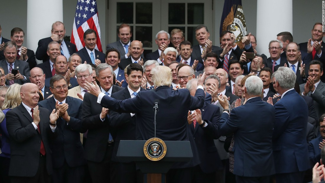 About that Rose Garden health care photo with all the ...