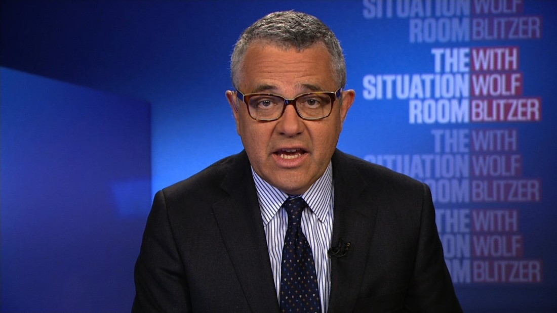 Toobin: 'Three words: Obstruction of justice ...