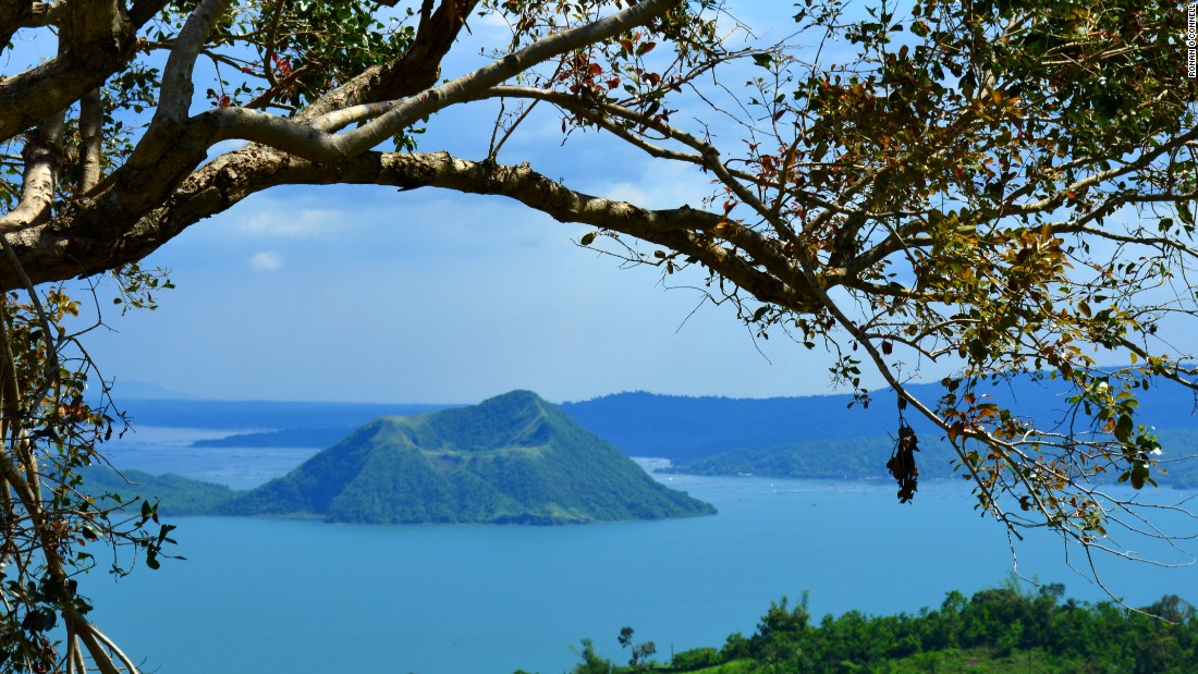 Taal Volcano in the Philippines: Danger, beauty -- and