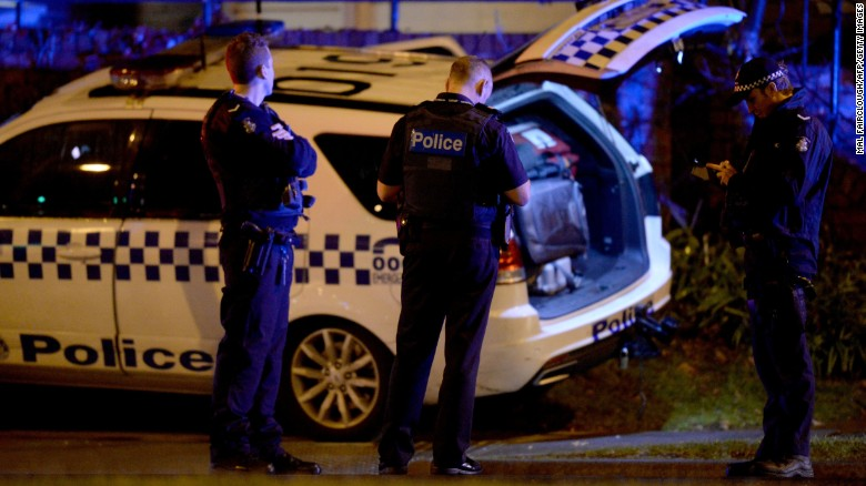 Police in the Melbourne bayside suburb of Brighton on June 5 after a woman was held against her will.