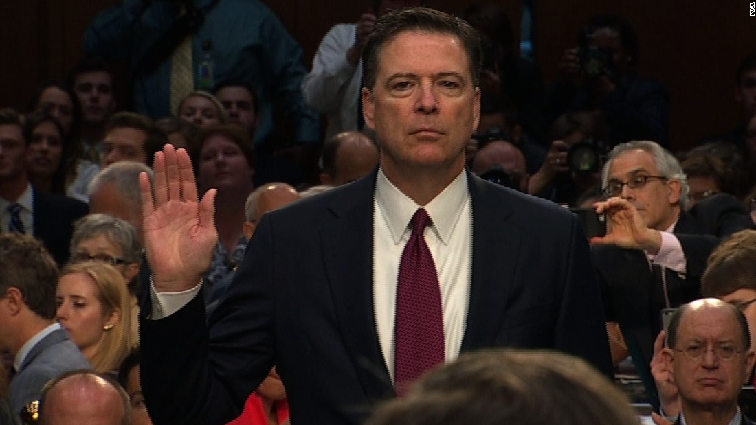 image of Comey: I need Americans to know this truth ...