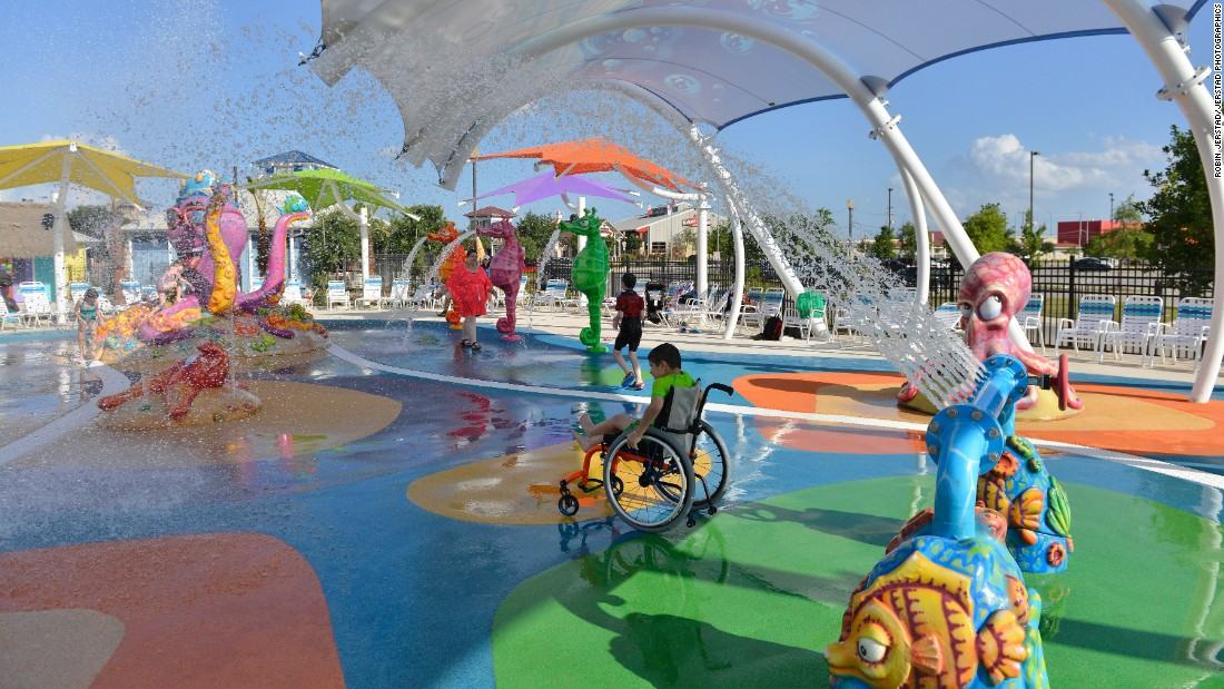 Inspired By Daughter Dad Builds Water Park For People