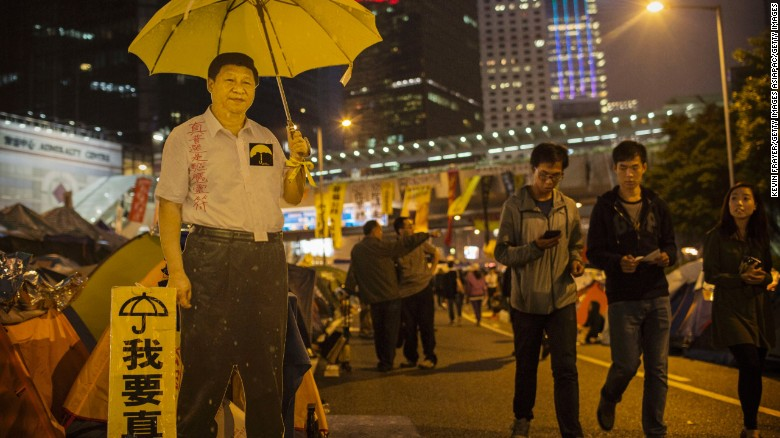 Any visit by Xi Jinping to Hong Kong is expected to be marked by mass protests.