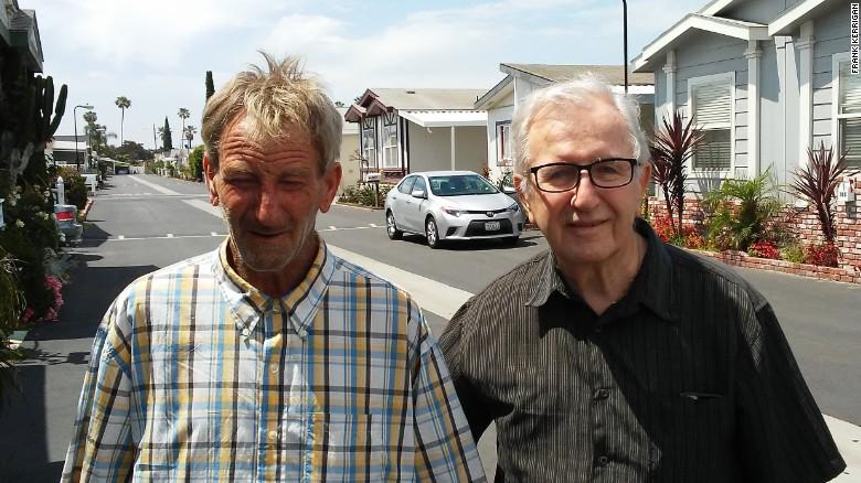Frank Kerrigan snr and jnr