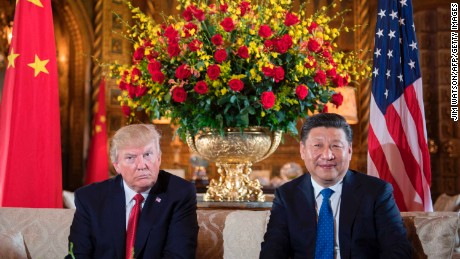 Trump and Xi speak about North Korea