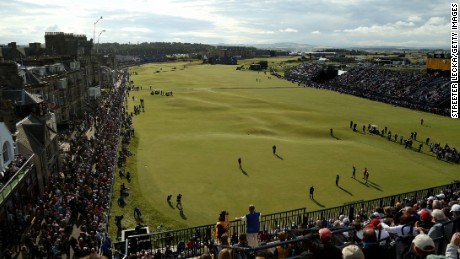St. Andrews squeezes six courses, including the Old Course, onto its venerable links.