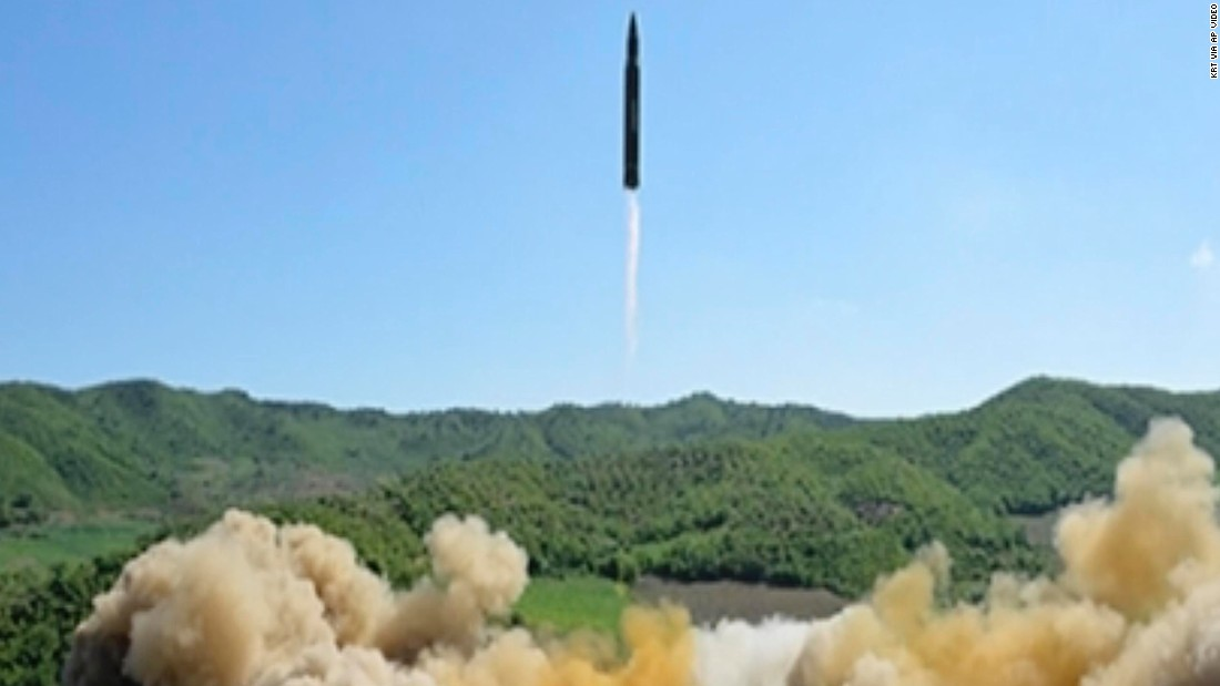 image of North Korean missile classified as 'brand new'