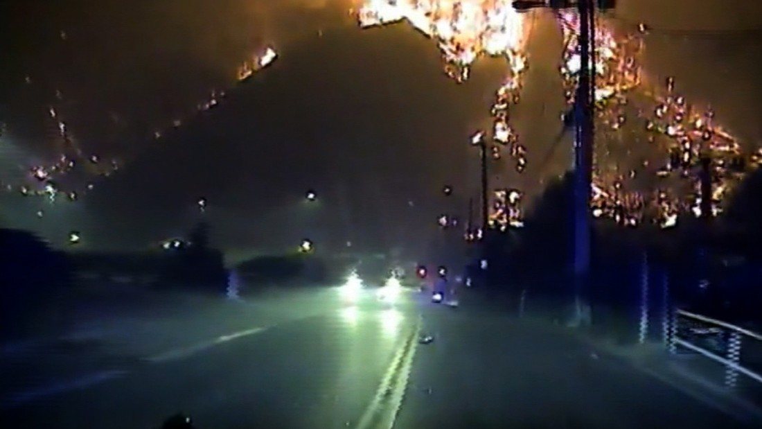 image of New video of Gatlinburg fire released