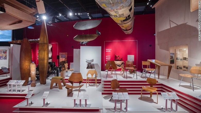 """Plywood: Material of the Modern World"" at London's Victoria and Albert Museum"