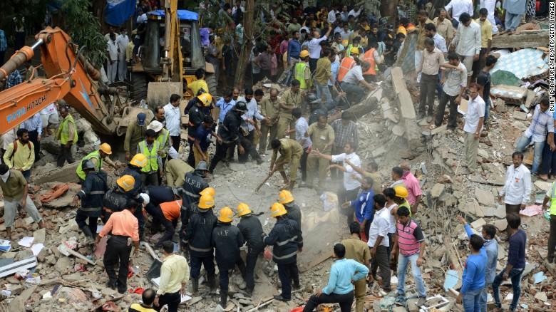 Image result for Ghatkopar Building collapse
