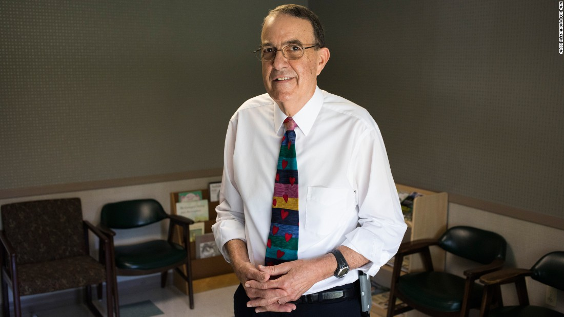 Dr. Louis St. Petery, a pediatric cardiologist and frequent critic of Florida's health policy, was asked to leave a state meeting where Children's Medical Services screening was discussed.