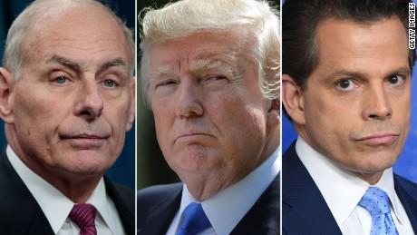 Scaramucci latest high-profile departure from Trump admin