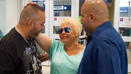 Elsie Ramirez meets her sons for the first time in 46 years.