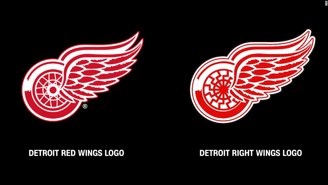 Detroit Red Wings to white supremacist: stop using our