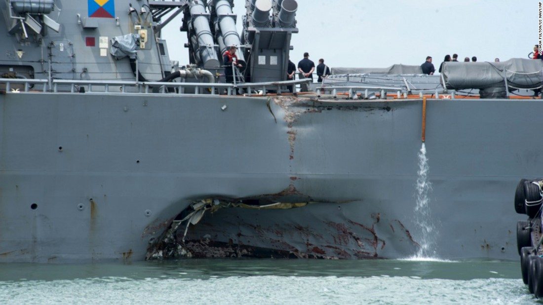 Navy continues search for sailors, wants answers after collision – Trending Stuff