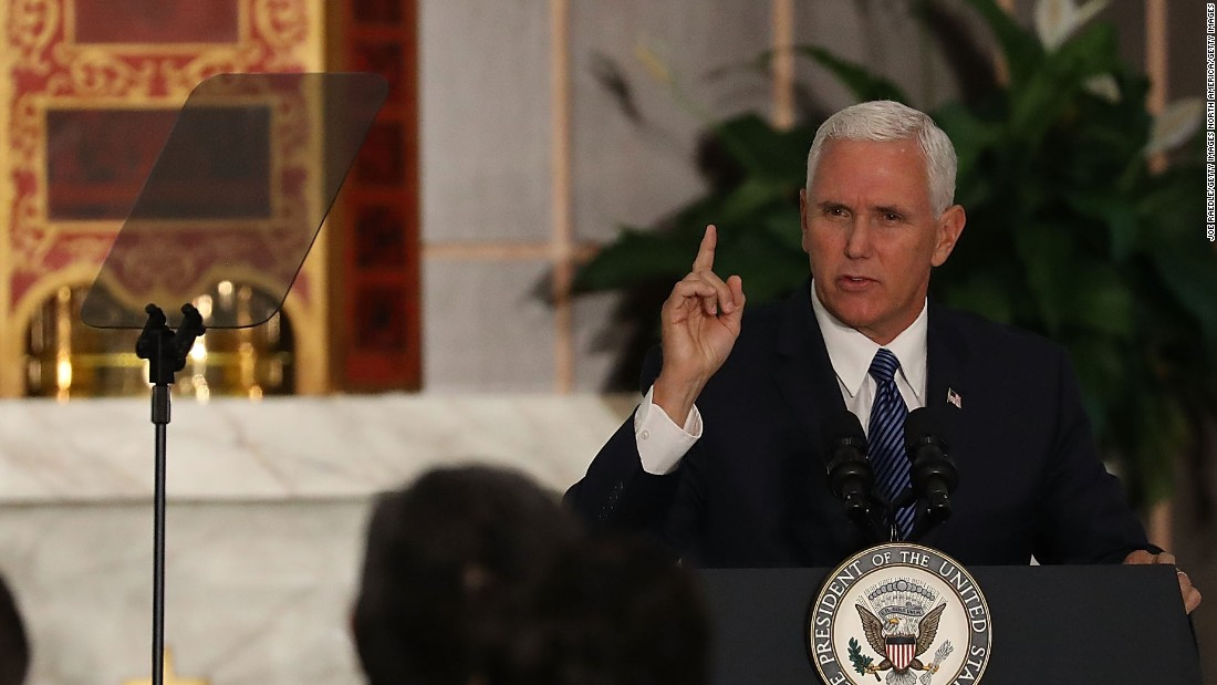 The price tag for Pence's trip to Indianapolis – Trending Stuff