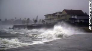 Hurricane Harvey slams Texas