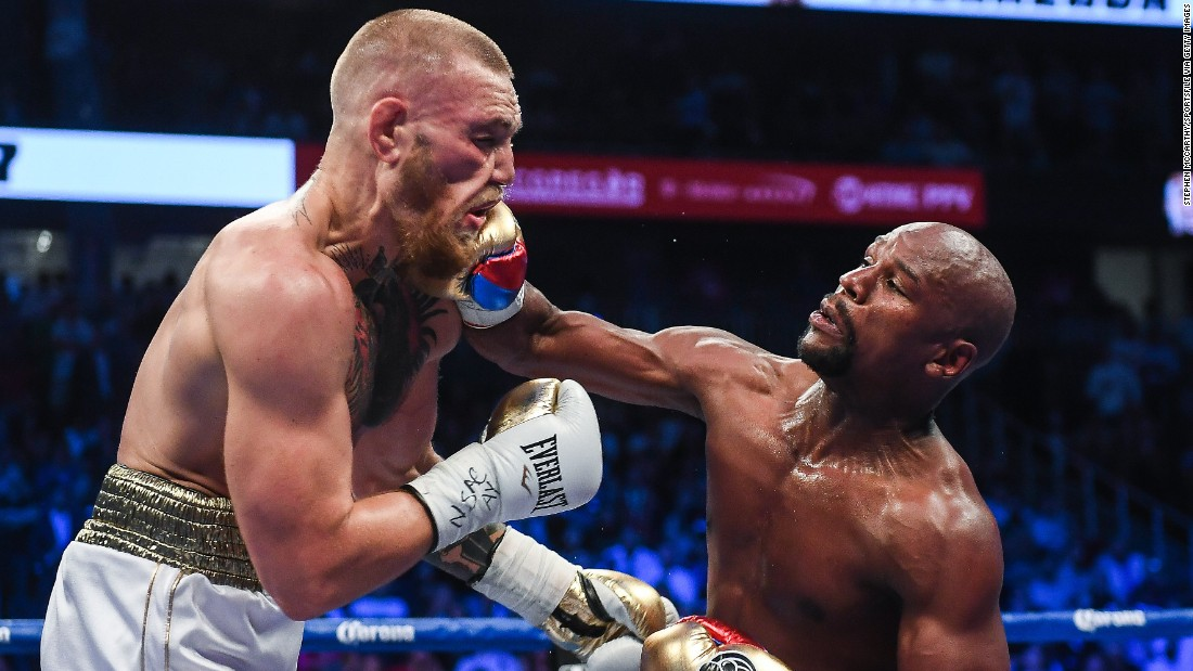 Conor Mcgregor Vs Mayweather Zeit