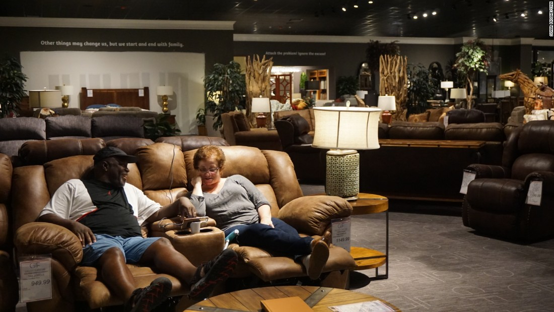 Houston furniture store turns into a shelter