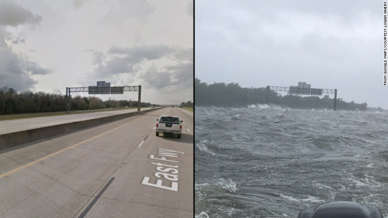 This Was A Highway Before Hurricane Harvey Now It Looks
