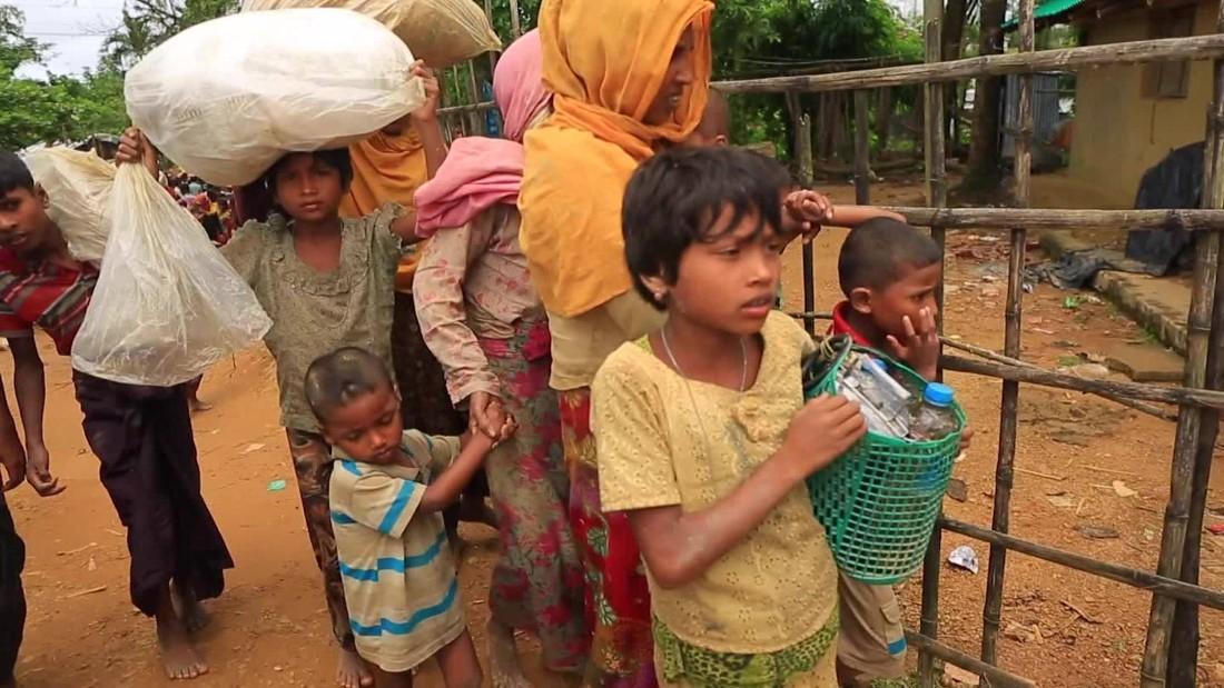 Zerchoo News - Rohingya Muslims flee violence in Myanmar - CNN Video