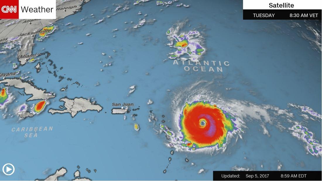 'Potentially catastrophic' Hurricane Irma nears eastern Caribbean islands – Trending Stuff