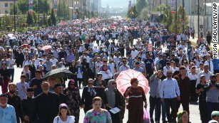 Thousands in Chechnya rally for Rohingya Muslims