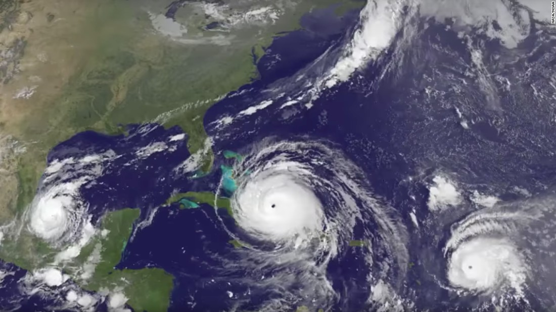 Hurricane Jose strengthens to 'extremely dangerous' Category 4 – Trending Stuff