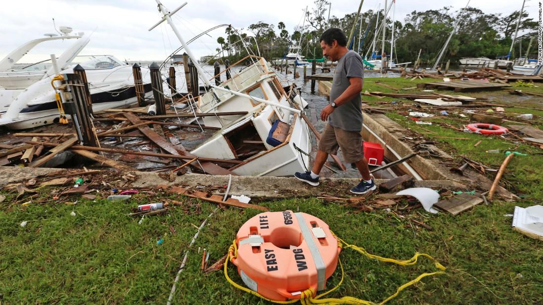 Hurricane Irma Florida Keys Residents Trickle Back To